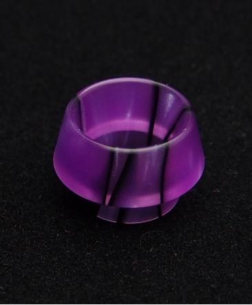 Vulcano Purple/Black Drip Tip - 810 Drip Tips - Rehlein Vapes