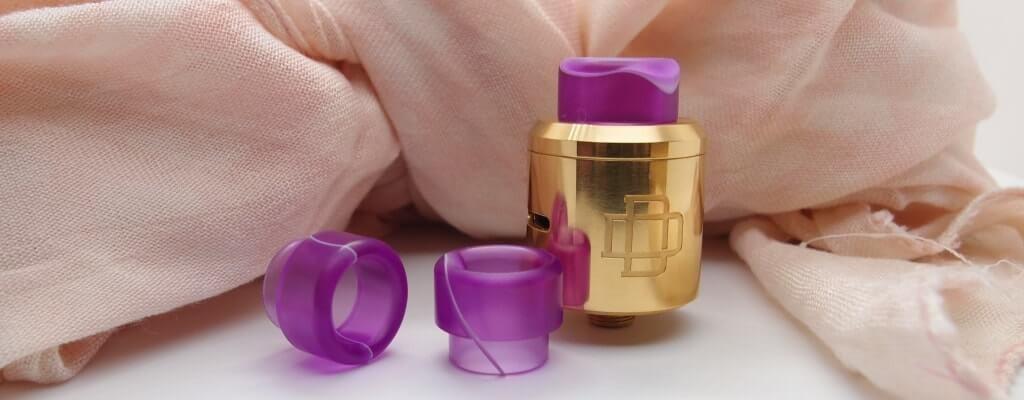 Cupcake Purple/White Drip Tip - 810 Drip Tips - Rehlein Vapes